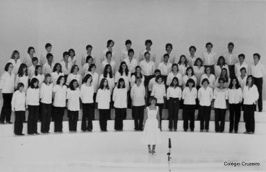 1978 - Apresentação do Coro na Alemanha